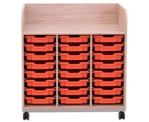 Flexeo Wickelkommode mit 24 kleinen Boxen-5