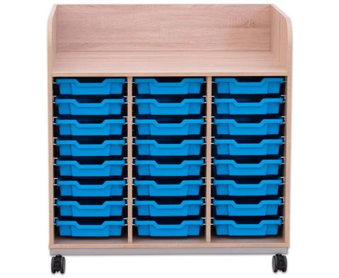 Flexeo Wickelkommode mit 24 kleinen Boxen-6