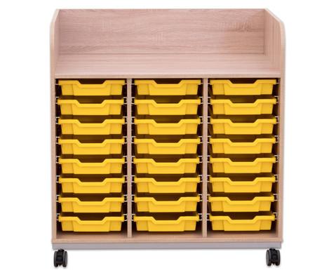 Flexeo Wickelkommode mit 24 kleinen Boxen-7