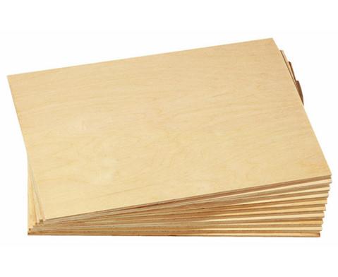 Sperrholzplatten 10 Stk 21 x 30 cm