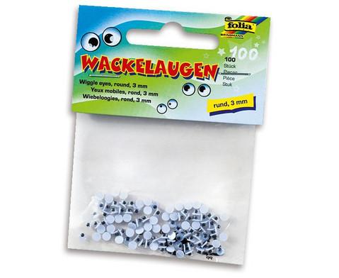 Wackelaugen rund-7