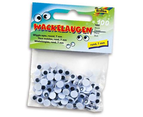 Wackelaugen rund-6