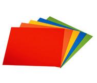 Faltblätter aus Kunststoff