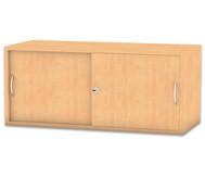 Flexeo Aufsatzschrank, Schiebetüre, ohne Mittelwand, HxB: 41,4 x 94,4 cm
