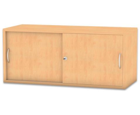 Flexeo Aufsatzschrank mit 1 Fach HxB 414 x 944 cm