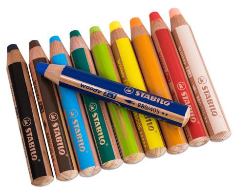 STABILO Woody-Farbstifte 10 Farben-1