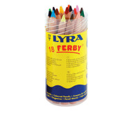 Lyra Ferby, naturbelassen, in einer Dose mit Schraubdeckel, 18 Stück
