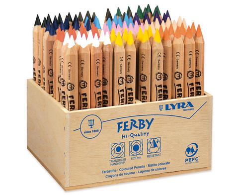 Lyra Ferby naturbelassen im Holzaufsteller 96 Stueck-1