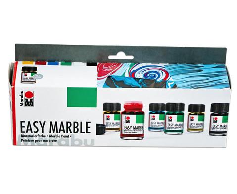 Marabu easy marble Marmorierfarben 6er- Set-6