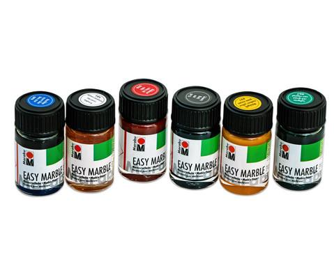 Marabu easy marble Marmorierfarben 6er- Set-7