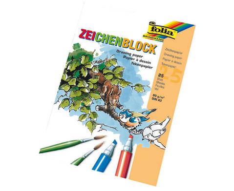 Zeichenblock DIN A3  25 Blatt-1