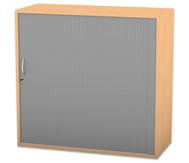 Flexeo Rollladen-Aufsatzschrank, 2 Fachböden HxB: 90,1 x 94,4 cm