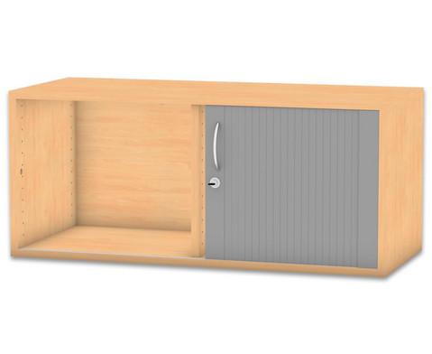 Flexeo Rollladen-Aufsatzschrank mit Mittelwand HxB 414 x 944 cm