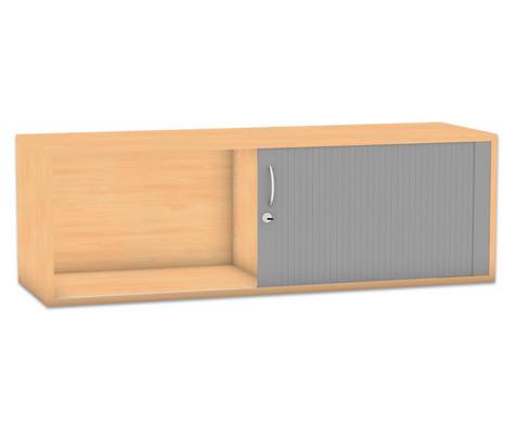 Flexeo Rollladen-Aufsatzschrank mit Mittelwand HxB 414 x 1264 cm
