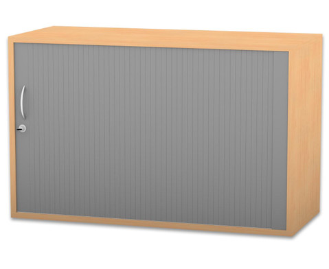 Flexeo Rollladen-Aufsatzschrank 1 Fachboden HxB 606 x 944 cm-1