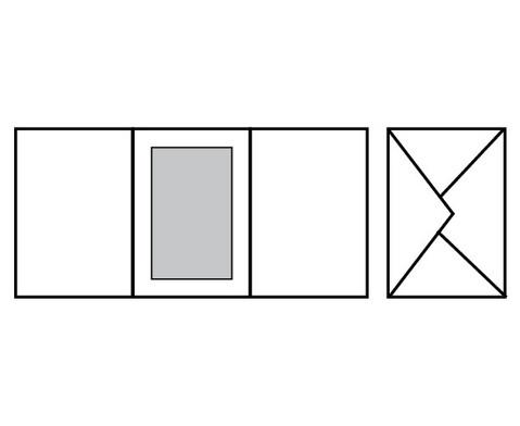 Passepartoutkarten  5er Set-4