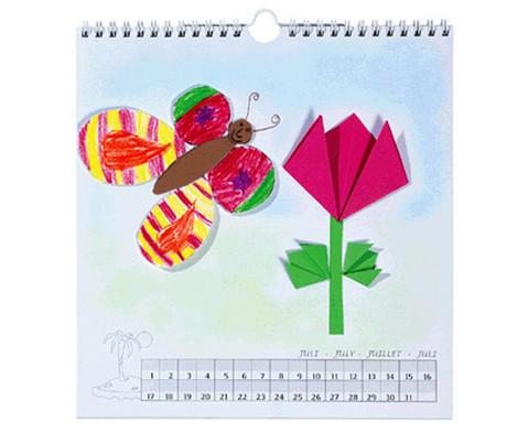 Blanko Kalender mit Spiralbindung quadratisch-1