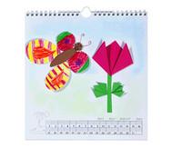 Blanko Kalender mit Spiralbindung, quadratisch
