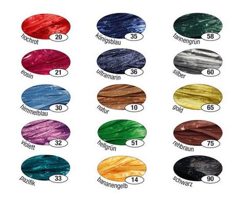 Kunstbast 15 Buendel farbig sortiert-2