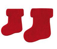 Filz-Stiefel, 4 Stück