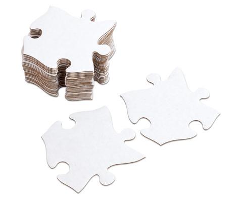 Riesen-Puzzleteile 32 Stueck blanko-3