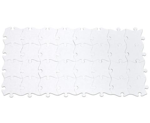 Riesen-Puzzleteile 32 Stueck blanko-4