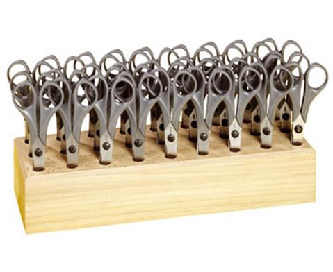 Mit 27 spitzen Bastelscheren im Scherenblock-1