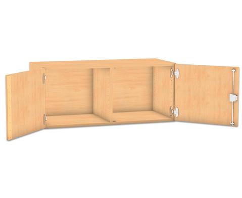 Flexeo Aufsatzschrank HxB 414 x 944 cm mit Mittelwand