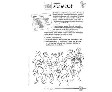 Hundertwasser fuer Kinder - Eine Werkstatt-2