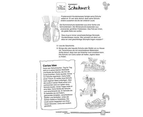 Hundertwasser fuer Kinder - Eine Werkstatt-3