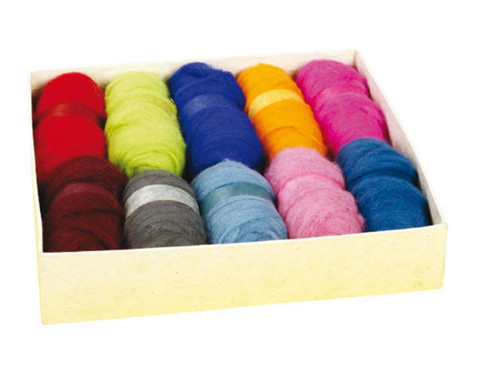 Maerchenwolle 1 kg in 10 Farben-2
