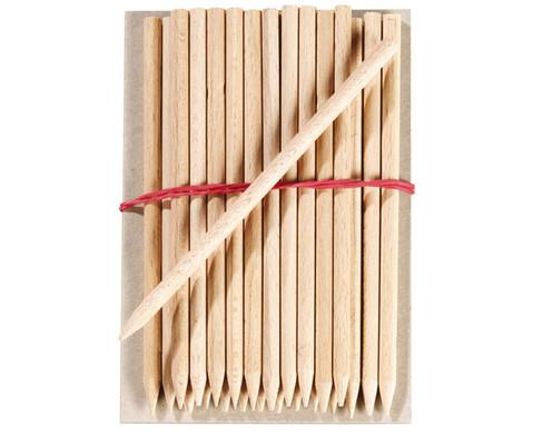 Holzstaebchen 25 Stueck