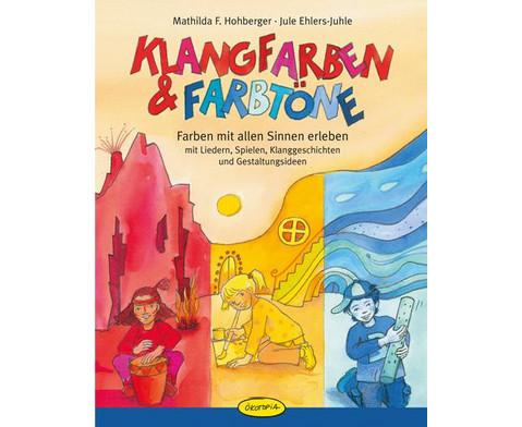 Klangfarben  Farbtoene - Buch-1