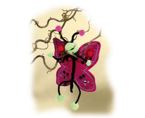 20 vorgestanzte Filzformen fuer 10 Schmetterlinge-5