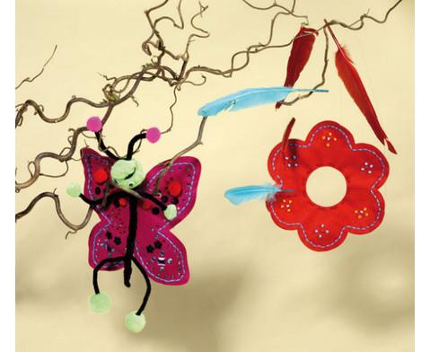 Filz-Stanz-Schmetterling 20 Stueck-3