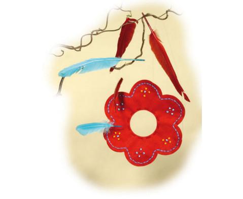 Filz-Blumen in tollen Farben-4