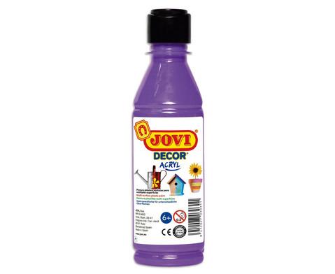JoviDecor Acryl- Mehrzweckfarbe 250 ml-7