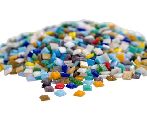 bunte Mosaik-Glassteine 1 kg-11