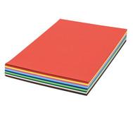 125 Bogen DIN A2, Tonzeichenkarton 160 g/m² in 10 Farben
