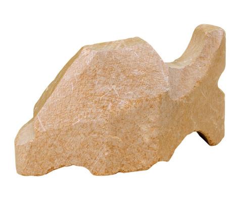Speckstein Fisch Rohling-1