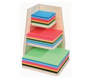 Papier-Ständer aus Holz