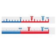 Schüler-Zahlenstrahlband, 1 bis 100