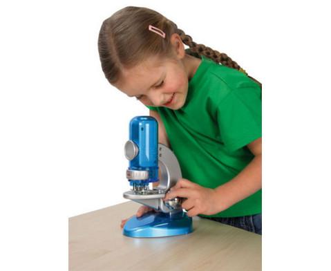 Das Monitor- Mikroskop fuer die Experimentierecke-4
