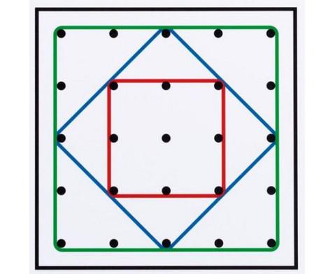 Arbeitskarten fuer transp Geometrie-Board UEbungen mit 1 Gummiband-2