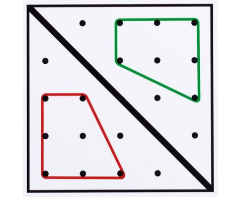 Arbeitskarten fuer transp Geometrie-Board UEbungen mit 1 Gummiband-3