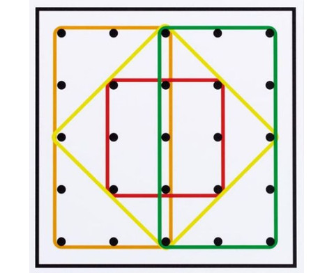 Arbeitskarten fuer transp Geometrie-Board UEbungen mit 1 Gummiband-4