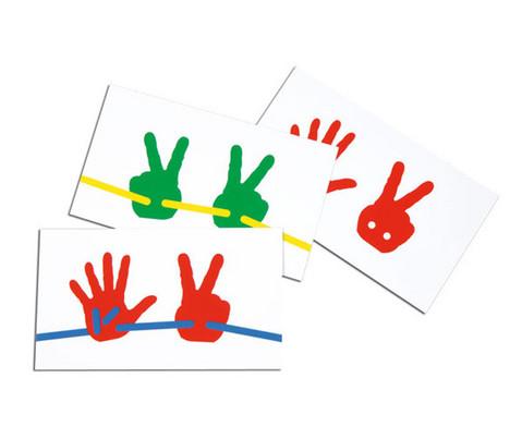 15 Vorlagekarten zu Faedel-Haende