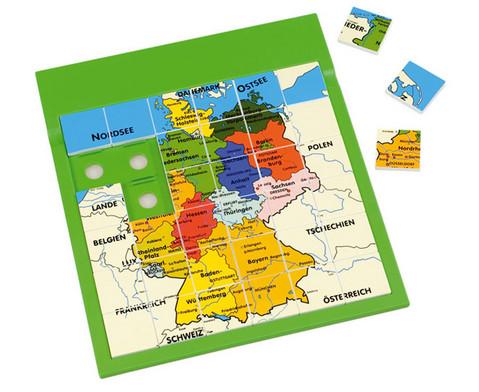 Puzzle-Platte Deutschland