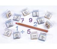 Zahlen-Stempel 12er Set