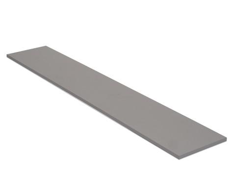 Flexeo Abdeckplatte fuer Bueromoebel 25 x 240 x 43 cm